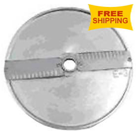 Axis Cutting Disk for Expert 205 Food Processor Slice, Crinkled, 4mm by