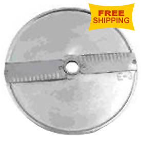 Axis Cutting Disk for Expert 205 Food Processor Slice, Crinkled, 6mm by