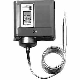 Johnson Controllers Temperature Controller A70HA-2C Remote Bulb, Cool Only, Four-Wire, Two-Circuit