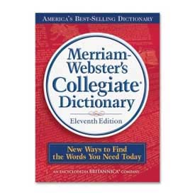 Buy Merriam-Webster Collegiate Dictionary, 11th Edition, 1 Each