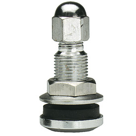 "Chrome Low Profile Valve 3/4"" - Min Qty 50"
