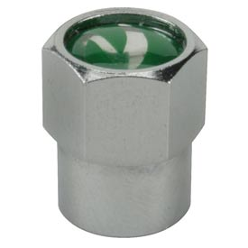 Chrome Plated Brass Valve Cap for Nitrogen Inflated Tires