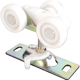 Prime-Line N 6848 Pocket Door Roller, Tri-Wheel, 1-Inch Flat Nylon Wheels,(Pack...