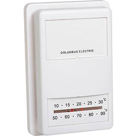 TPI Low Voltage Wall Mounted Thermostats - UT3001