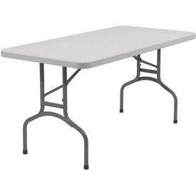 "NPS Rectangular Folding Table - 60"" x 30"""