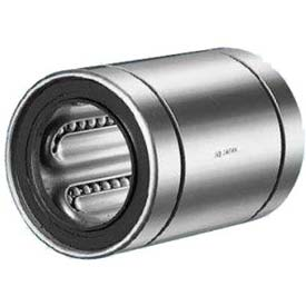 "NB Corp Stainless Steel Closed Linear Bearing W/ Resin Retainer & Seals SWS10GUU, 5/8""ID, 1.5""L"