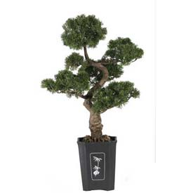 Nearly Natural 36'' Cedar Bonsai Silk Plant