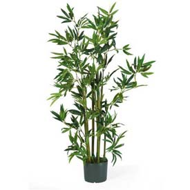 Nearly Natural 4' Bamboo Silk Plant