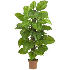 Nearly Natural 52'' Large Leaf Philodendron Silk Plant
