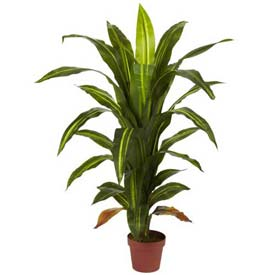 Nearly Natural 4' Dracaena Silk Plant