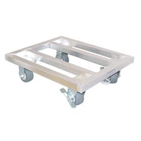 "New Age - Aluminum Mobile Dunnage Rack 42""W x 24""D x 8""H"