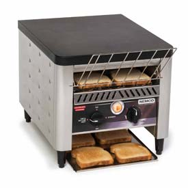 Nemco 6800 2 Slice Conveyor Toaster, 300 Slices Per Hour, 120V by