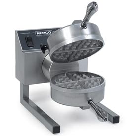 Belgian Waffle Baker, Fixed Grids With Silverstone 120 Volts by