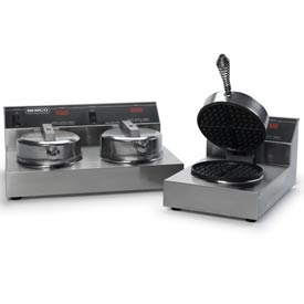 Belgian Waffle Baker Silverstone Removable Plate 240 Volt by