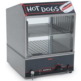 Hot Dog Steamer, Low Water Level Indicator Light by