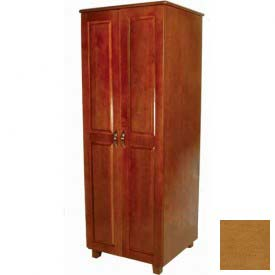 "NK Medical Wardrobe, Lexington, 2 Doors, 30"" Interior, 33-1/2""W X 25""D X 72""H, Light Maple"