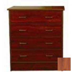 "NK Medical Chest, Monroe, 3 Drawers, 32""W X 17""D X 29""H, Wild Cherry"