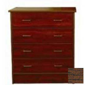 "NK Medical Chest, Monroe, 4 Drawers, 32""W X 17""D X 36-3/4""H, Winchester Walnut"