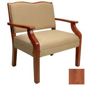 "NK Medical Bariatric Dining Chair, 33""W X 21""D X 33""H, 450 Lbs. Max, Southern Cherry"