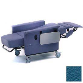 NK Medical Recliner Chair, Stationary, Infinite Recline, No Casters, 300 Lbs. Max, Colonial Blue