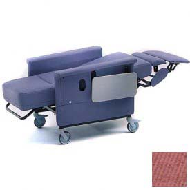 NK Medical Recliner Chair, Stationary, Infinite Recline, No Casters, 300 Lbs. Max, Tea Rose