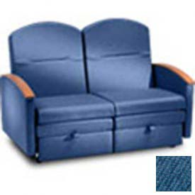 NK Medical Double Sleeper, With Padded Arms, Bonnie Blue