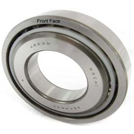 NACHI Ball Screw Support Bearing 25TAB06UP4, Single, Flush Ground, 25MM Bore, 62MM OD by