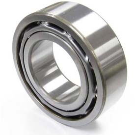 NACHI, 5211-2NS, Double Row Angular Contact Bearing, Double Sealed, 55MM Bore x 100MM OD x 33.3MM W