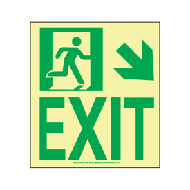 Glow NYC - Exit Down Right