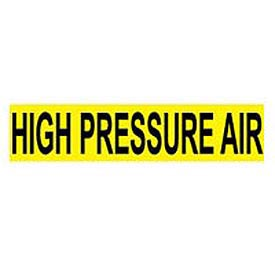 Pressure-Sensitive Pipe Marker - High Pressure Air, Pack Of 25