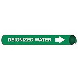 Precoiled and Strap-on Pipe Marker - Deionized Water