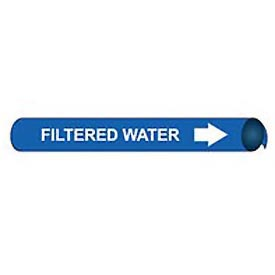 Precoiled and Strap-on Pipe Marker - Filtered Water