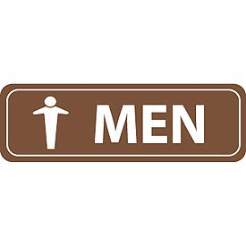Architectural Sign - Men