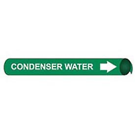 Precoiled and Strap-on Pipe Marker - Condenser Water