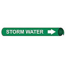 Precoiled and Strap-on Pipe Marker - Storm Water