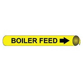 Precoiled and Strap-on Pipe Marker - Boiler Feed