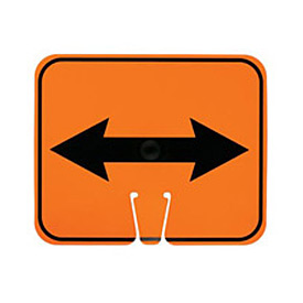Cone Sign - Double Arrow