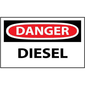 Machine Labels - Danger Diesel