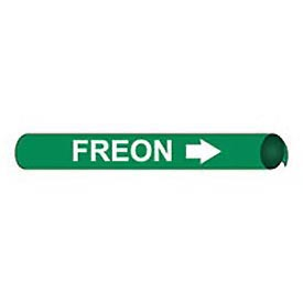 Precoiled and Strap-on Pipe Marker - Freon