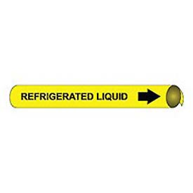 Precoiled and Strap-on Pipe Marker - Refrigerated Liquid