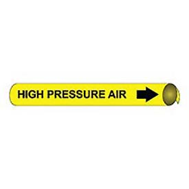 Precoiled and Strap-on Pipe Marker - High Pressure Air