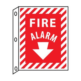 Fire Flange Sign - Fire Alarm