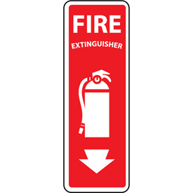 Fire Safety Sign Fire Extinguisher Vinyl by