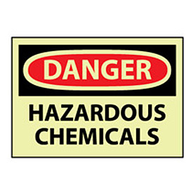 Glow Danger Vinyl - Hazardous Chemicals