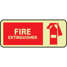 Glow Sign Vinyl - Fire Extinguisher Graphic