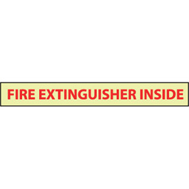 Glow Sign Vinyl - Fire Extinguisher Inside