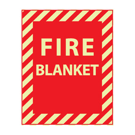 Glow Sign Vinyl - Fire Blanket
