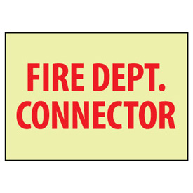 Glow Sign Vinyl - Fire Dept. Connector