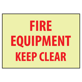 Glow Sign Vinyl - Fire Equipment