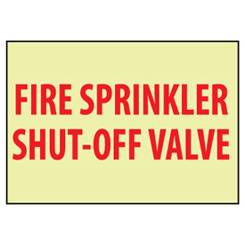 Glow Sign Rigid Plastic - Shut-Off Valve
